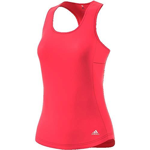 Red Womens Tank Top (adidas Own The Run Cup Tank Women, Damen M rot (Shock Red))
