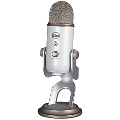 Blue Microphones Yeti Microfono Condensatore USB, Bianco Vintage