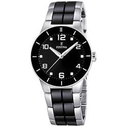 FESTINA F16531/2 - Reloj de mujer de cuarzo, correa de acero inoxidable color varios colores