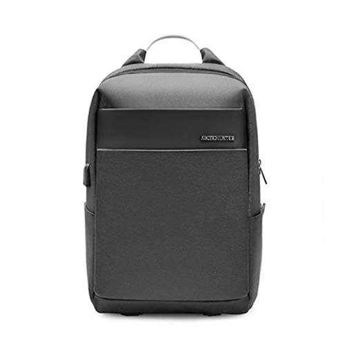 Freizeit Business Laptop Rucksack, für 15.6 Zoll mit USB Ladeanschlus wasserdichte Anti Diebstahl Ultra-Leicht Daypacks Herren, Damen, Arbeit, Schule, Reisen,Gray -