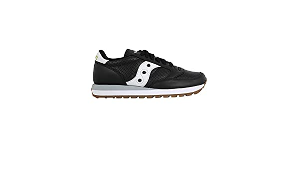 Saucony Luxury Fashion Uomo 7046101 Nero Pelle Sneakers