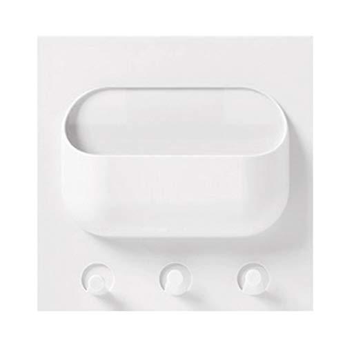 Plastik Aufbewahrungsbox,Rifuli®Lagersysteme Badezimmer Lagerung Aufbewahrungskörbe Multifunktions Küche Starke Paste Rack Küche Bad Kunststoff Rack