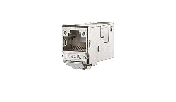 130910-I-B1 Cat.6A TIA-B gesch E-DATmodul Modularer Steckverbinder 4250184118305 8 Metz Connect E-DATmodul RJ45 8