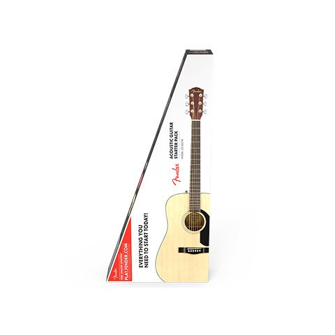 Fender CD-60S Dreadnought Pack · Set guitarra acústica