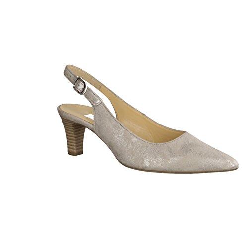 Gabor 41.550.63, Scarpe col tacco donna Multicolore multicolore Grigio (grigio)