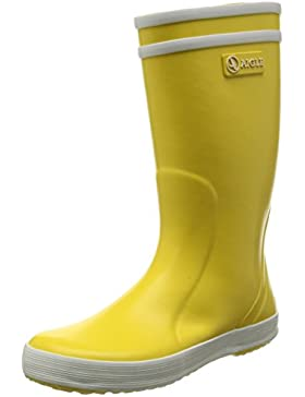 Aigle Lolly Pop, Botas unisex Amarillo (Amarillo/Blanco), 26 EU
