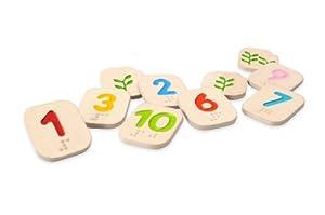 Plan Toys - 5654 - Números en Braile 1-10 Plan Toys 24m+