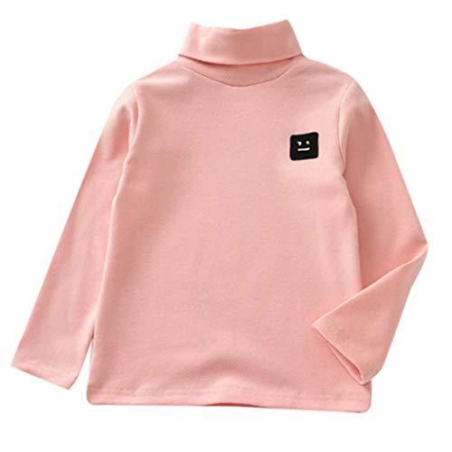 MRULIC Langärmliges Sweatshirt des Kind Baby Stehkragen Jungen-Oberteile T-Stück Pullover...
