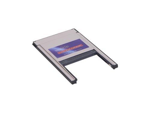 PCMCIA-Adapter für Compact Flash Karten, für Typ 1 und 2 - Pcmcia-typ-1-flash-karte