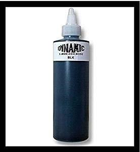Tattoo Farbe Ink Dynamic Black 8oz (240ml) VIKING INK USA TINTE FÜR TÄTOWIERUNG