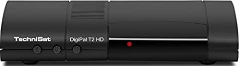 TechniSat DIGIPAL T2 HD DVB-T2 HD Receiver (DVB-T/DVB-T2) schwarz
