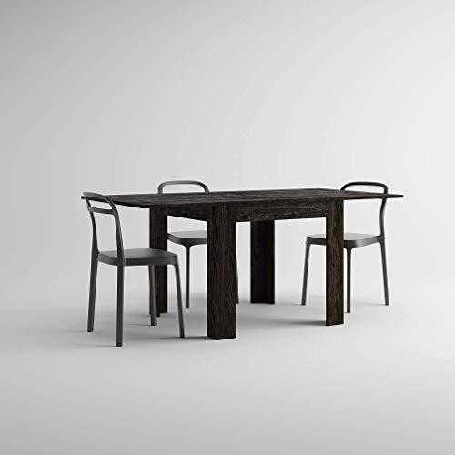 Mobilifiver, tavolo allungabile fino a 180 cm eldorado, apertura