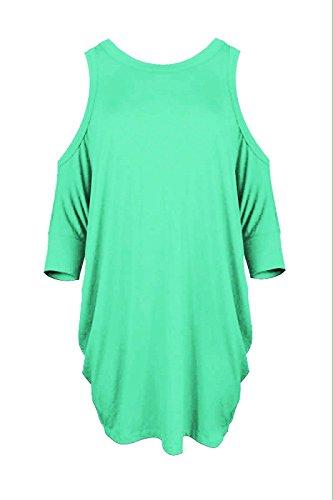 Sugerdiva - Robe - Ajourée - Femme Btle.Green