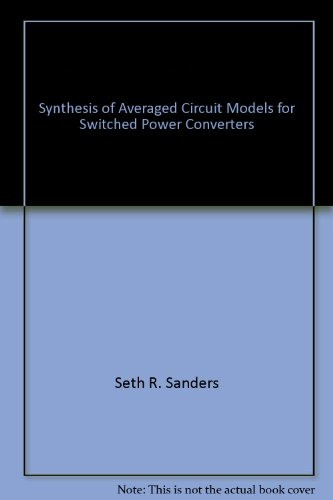 Synthesis of Averaged Circuit Models for Switched Power Converters