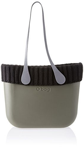 O bag evs00_tes01_las04_ecs00, borsa a mano donna, grigio (vulcano/grigio), 39 x 31 x 14 cm (w x h x l)