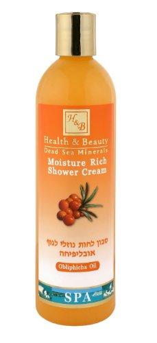Mer Morte cosmétique - Health and Beauty Dead Sea Minerals - Shampoing traitant à lhuile d'argousier - 400 ml