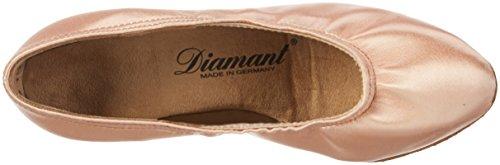 Diamant Damen Tanzschuhe 069-106-094, Scarpe con Tacco Donna Beige (Black Waterproof)