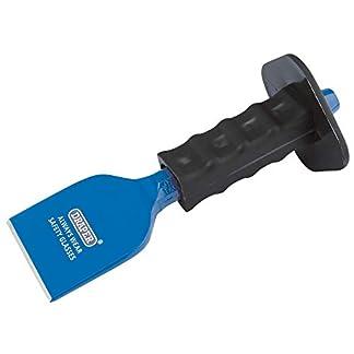 Draper bd6g/AP–Cincel para ladrillo con protector para la mano, azul, 225x 75mm