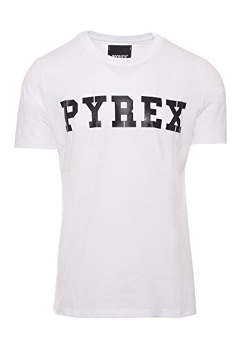 Pyrex SHIRT UNISEX GRAPHIC TEE 28300 Bianco