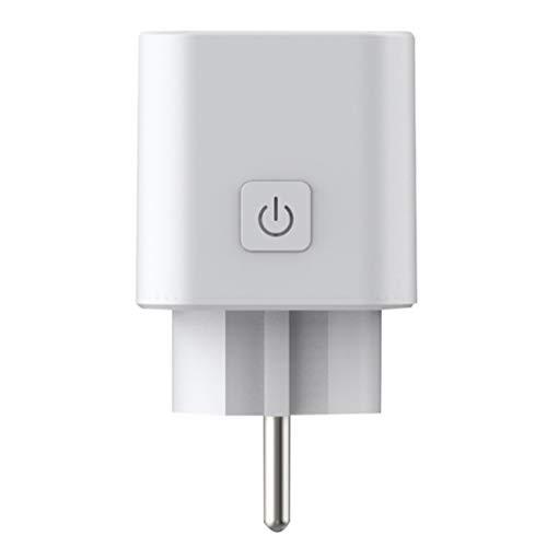 Preisvergleich Produktbild Topker EU-Stecker WiFi Smart-Socket-Fernbedienung Timing-Sprachzustandssteuerfadeback Haushaltsgeräte Outlet