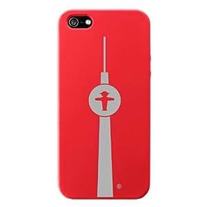 AMPELMANN-coque de protection en silicone pour iphone 5 motif aMPELMANN-n bodyguard & & rouge argent