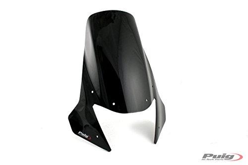 Puig Bulle Touring Couleur Noir 4636N pour Yamaha XT660Z TÉNÉRÉ 08'-16'