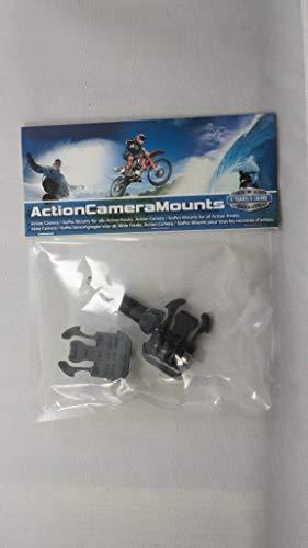 Schnalle mit Schnellverschluss und großer Rändelschraube für GoPro und andere Action Cams, 2 Stück -