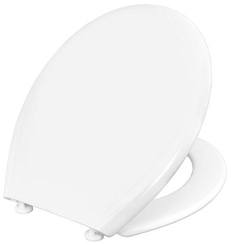 WC-Sitz PALU weiß | Toilettensitz | Toilettendeckel | Klodeckel | WC-Deckel | Thermoplast | KSP00