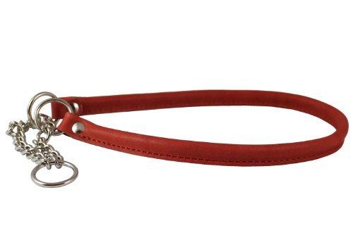 Martingale Genuine Leather Dog Collar Choker Large to XLarge 21-25 Neck, Cane Corso, German Shepherd, English Bulldog by Dogs My Love