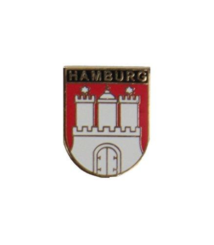 Yantec Flaggenpin 5er Pack Hamburg Pin Anstecknadel Fahnenpin