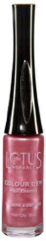 Lotus Herbals Colour Dew Nail Enamel, Pink Bliss, 7ml