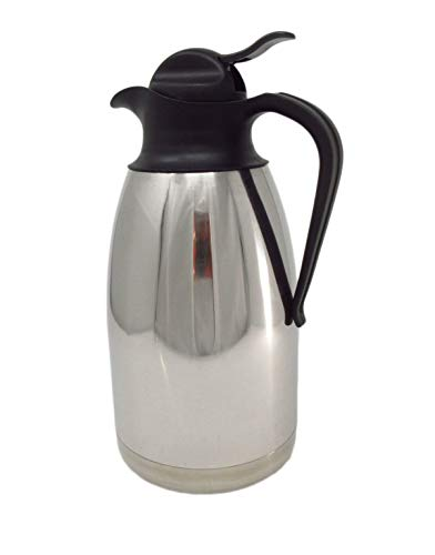 2,0 litros 18 1818 CookSpace/8 acero inoxidable, de doble pared, botón de presión, con aislamiento jarra termo, térmico al vacío jarra