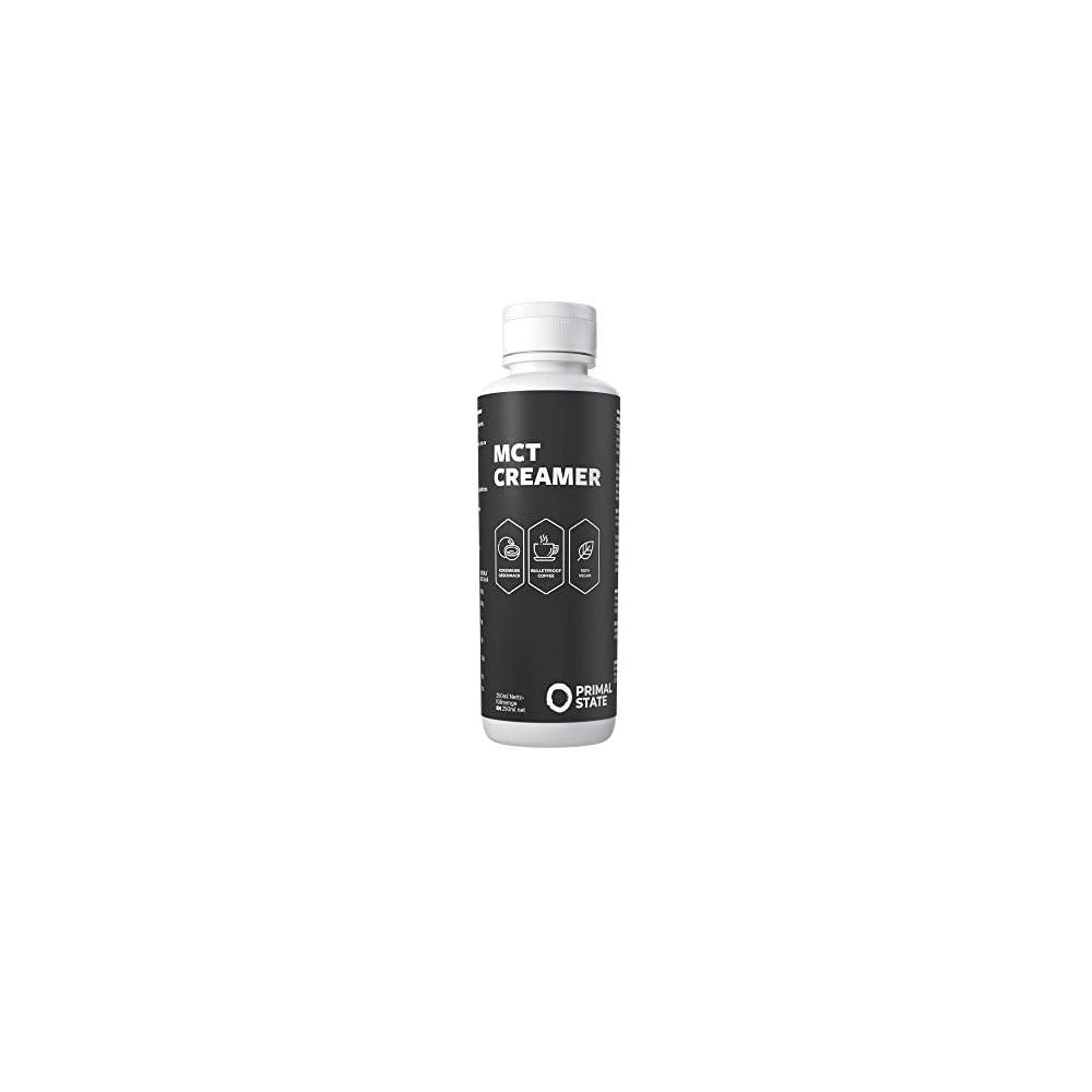Mct Creamer Emulgiertes Mct L Fr Den Perfekten Bulletproof Coffee Ohne Mixer Mit 45 Caprylsure C8 Ketogene Lebensmittel Von Primal State 250ml