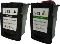 Prestige Cartridge PG-512/CL-513 Lot de 2 Cartouches d'encre compatible avec Imprimante Canon Pixma iP2700, iP2702, MP230, MP235, MP240, MP250, MP252, MP260, MP270, MP272, MP280, MP282, MP480, MP490, MP492, MP495, MP499, MX320, MX330, MX340, MX350, MX360, MX410, MX420, Noir/Couleur