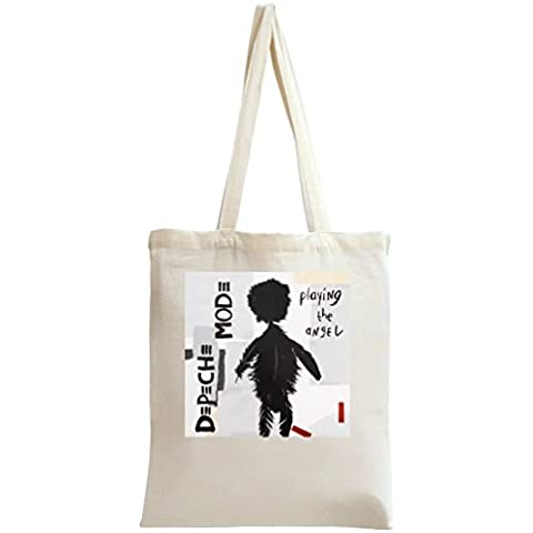 Depeche Mode Playing The Angel Bolso de mano Tote Bag Shoulder Messenger Shopping Gym Leisure Bags By Genuine Fan Merchandise