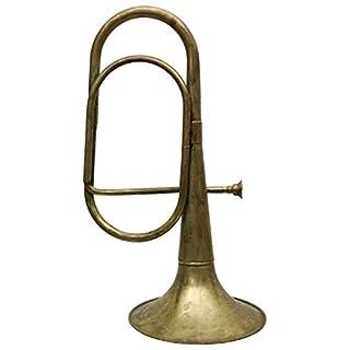 Tuba trumpet horn decoration brass 57cm mouthpiece antiquestyle nostalgia