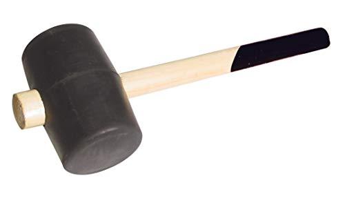 Schlosserhammer Fäustel Schonhammer Ausbeulhammer Gummihammer Hammer Latthammer(Gummihammer Ø 65mm)