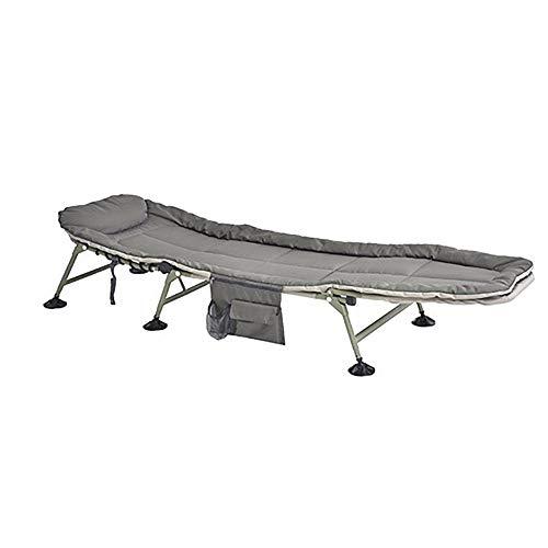 ZHENYANG Freizeit Stuhl Büro Siesta Stuhl Liege Strand Sonne Stuhl Grau Klapp Multifunktions Tragbar