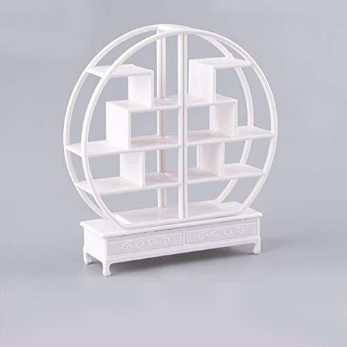 Architekturmodell Material Innenlandschaft chinesische Möbel Ming-Stil Regal, Weiß,