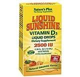 Best Nature's Plus Liquid Vitamins - Natures Plus - Liquid Sunshine Vitamin D3 2500IU Review