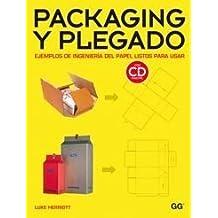 Packaging y plegado.: Ejemplos de ingeniería del papel listos para usar