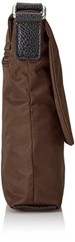 Jost - Tofino Shoulder Bag S, Borsa a tracolla Donna Nero (Black (Lava))