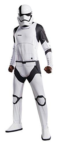 letzten Jedi Star Wars Henker Stormtrooper Kostüm, Standard, Brust 111,8cm Taille 76,2–86,4cm Hosenlänge 83,8cm (Hund Stormtrooper Kostüme)