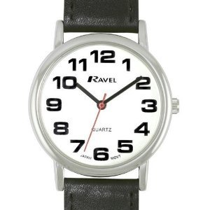 gents-ravel-easy-read-white-watch-with-extra-long-21cm-black-strap-and-chrome-case-r0105061