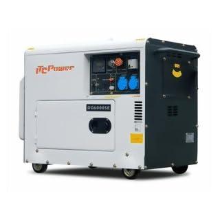 ITC 5500 W DG6000SE Groupe électrogène diesel professionnel 5500 W