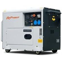 ITC 5500 W dg6000se obras corriente aggregat Diesel Generadores de corriente profesional