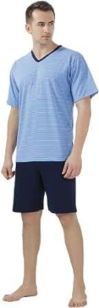 Cornette Ensemble Pyjama Homme CR-330 (Bleu, XL)