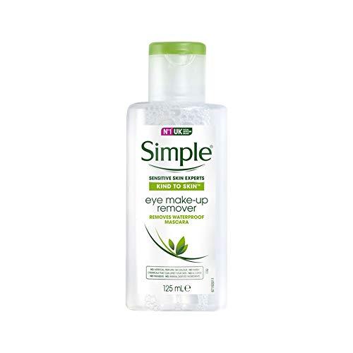 Simple Gesichtspflege Augen-Make-up-Entferner, 125 ml