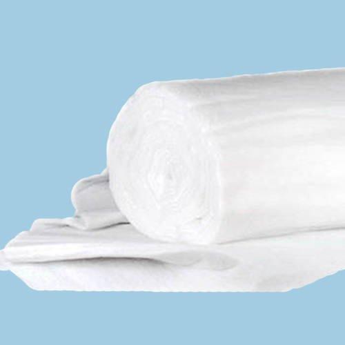 Schnee-Matte Vliesstoff, weiss, 150 cm x 100 cm