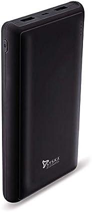 Syska 20000 mAh Li-Polymer Power Pro200 Power Bank (Black)